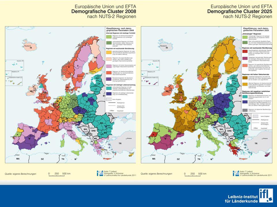 Fazit Permanente demographische Handicaps sind Teil und Ausdruck struktureller Entwicklungsschwächen auf der regionalen Ebene.