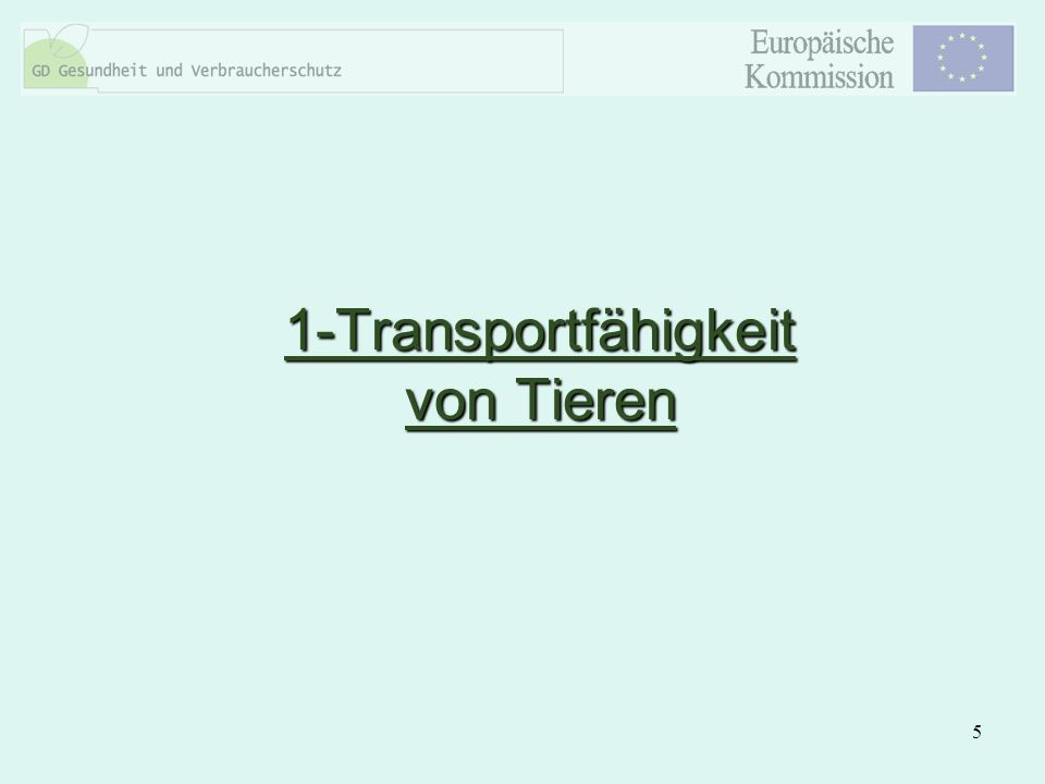 5 1-Transportfähigkeit von Tieren