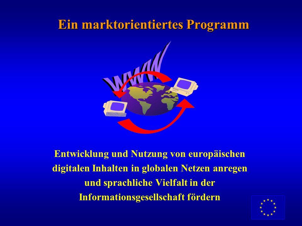 Begründung Ein politisches Muss: Europas Präsenz im Internet verbessern – mehr, bessere und vielfältigere Inhalte Ein wirtschaftliches Muss: Wettbewer