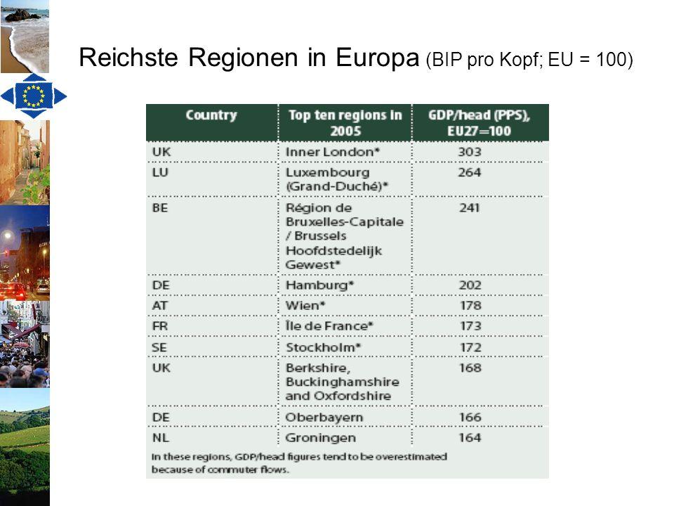 Eine europäische Raumplanung.