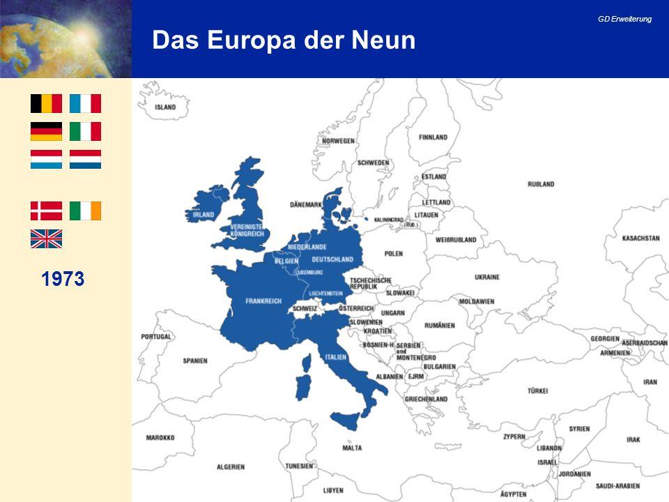 GD Erweiterung 35 Beitrittsverhandlungen: Kapitel Luxemburg- Gruppe (erste Gruppe der Bewerberländer) Von März 1998 bis Dezember 1999: 23 von 31 Kapiteln geöffnet.