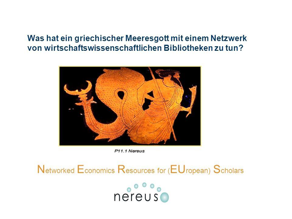 Was hat ein griechischer Meeresgott mit einem Netzwerk von wirtschaftswissenschaftlichen Bibliotheken zu tun.
