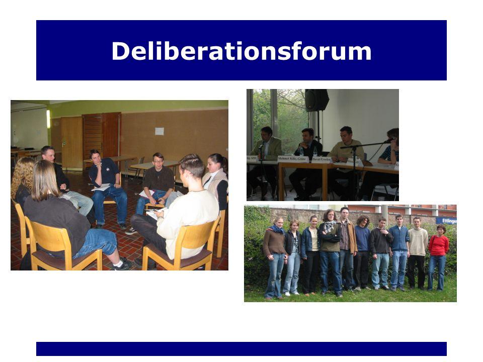 Deliberationsforum