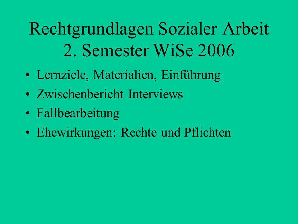 Rechtgrundlagen Sozialer Arbeit 2.