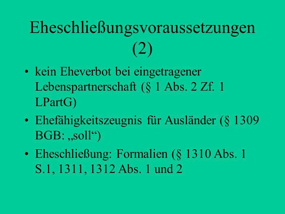 Die Gütergemeinschaft, §§ 1415 ff.