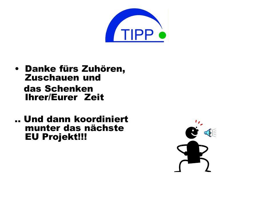 Für alle weiteren Informationen: www.teachers-ipp.eu Tre