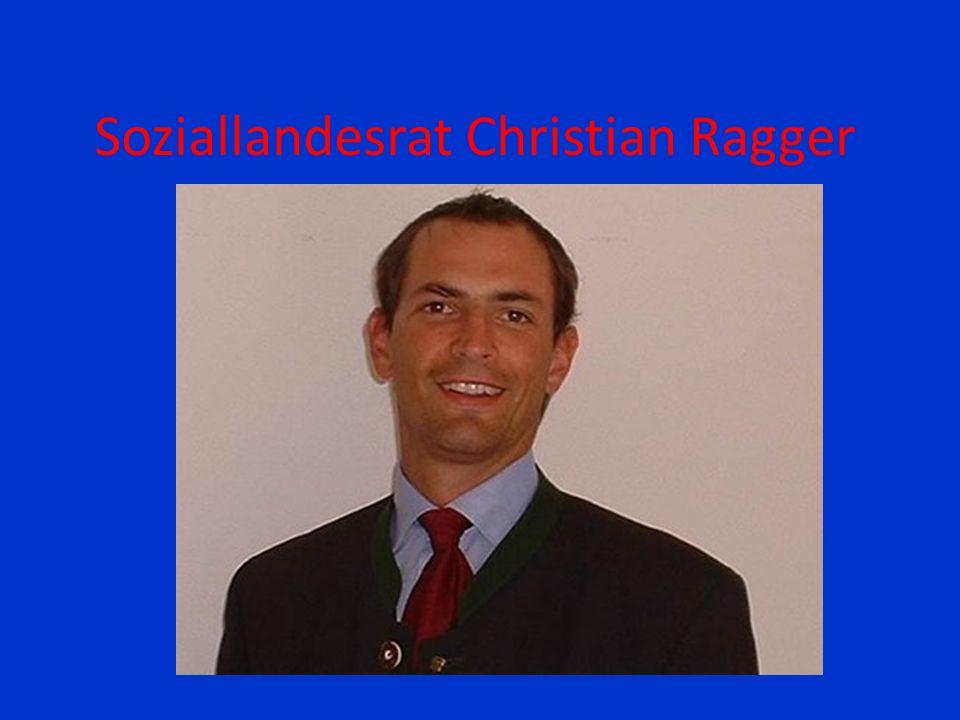Soziallandesrat Christian Ragger