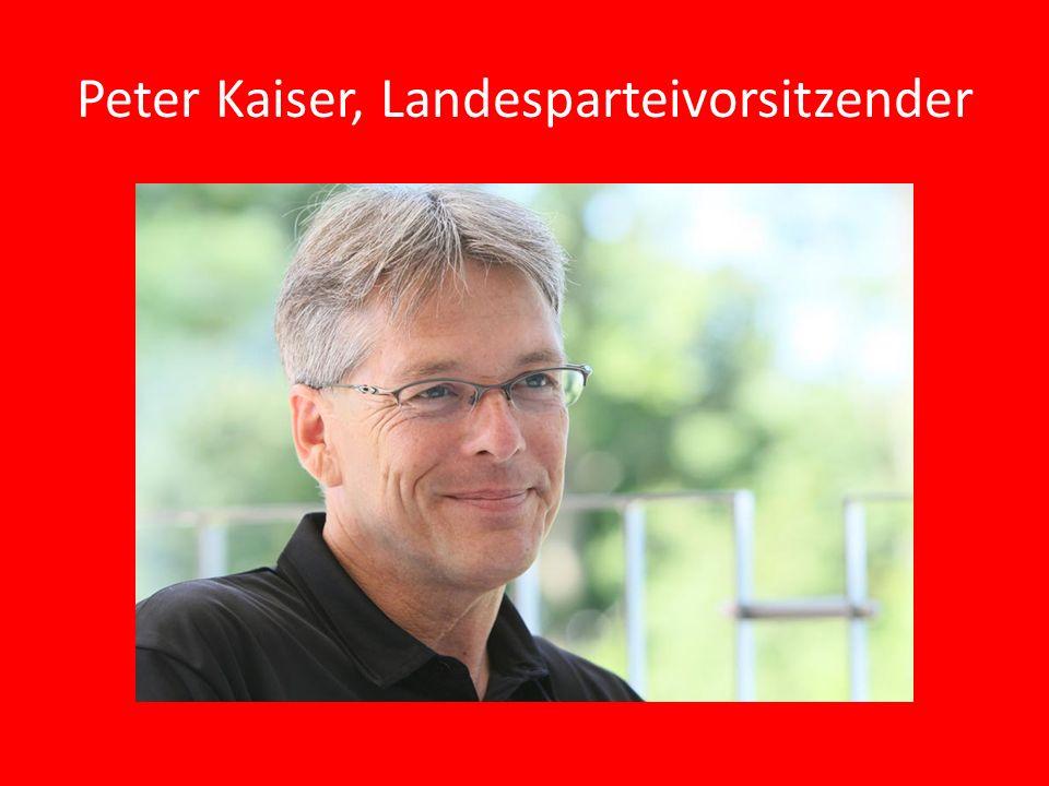 Landeshauptmannstellvertreter Uwe Scheuch