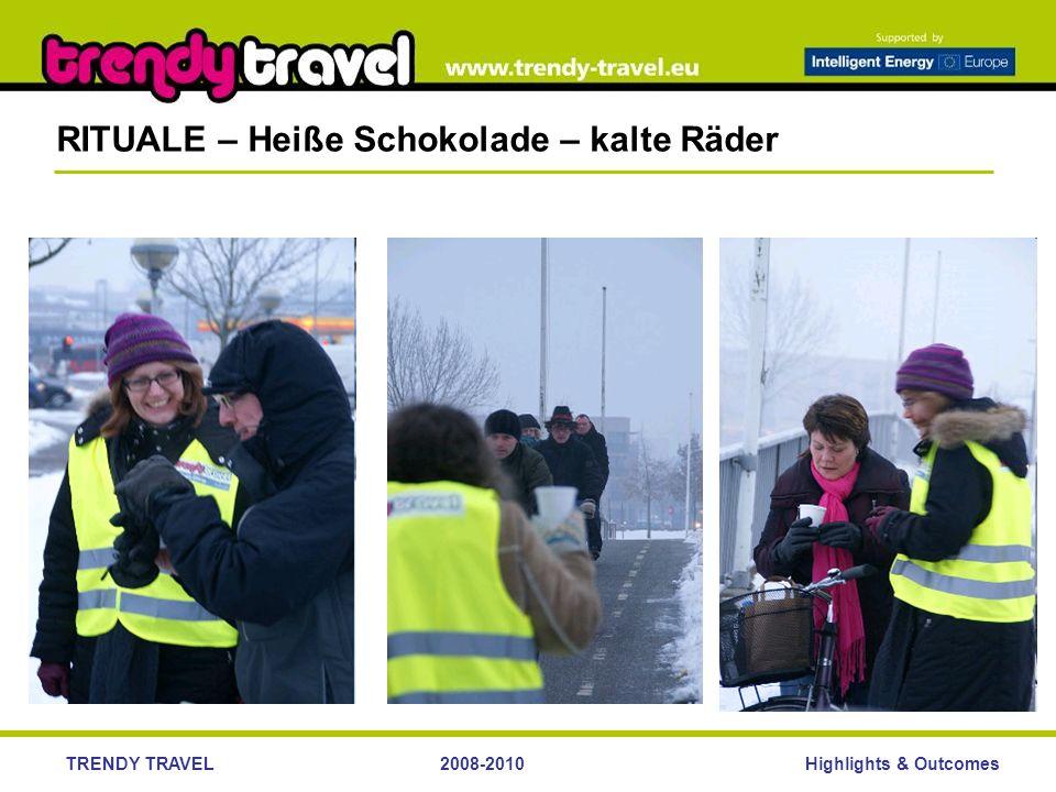 Highlights & OutcomesTRENDY TRAVEL2008-2010 RITUALE – Heiße Schokolade – kalte Räder
