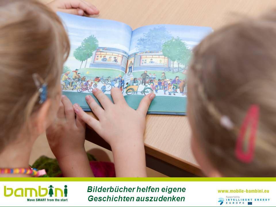 Bilderbücher helfen eigene Geschichten auszudenken