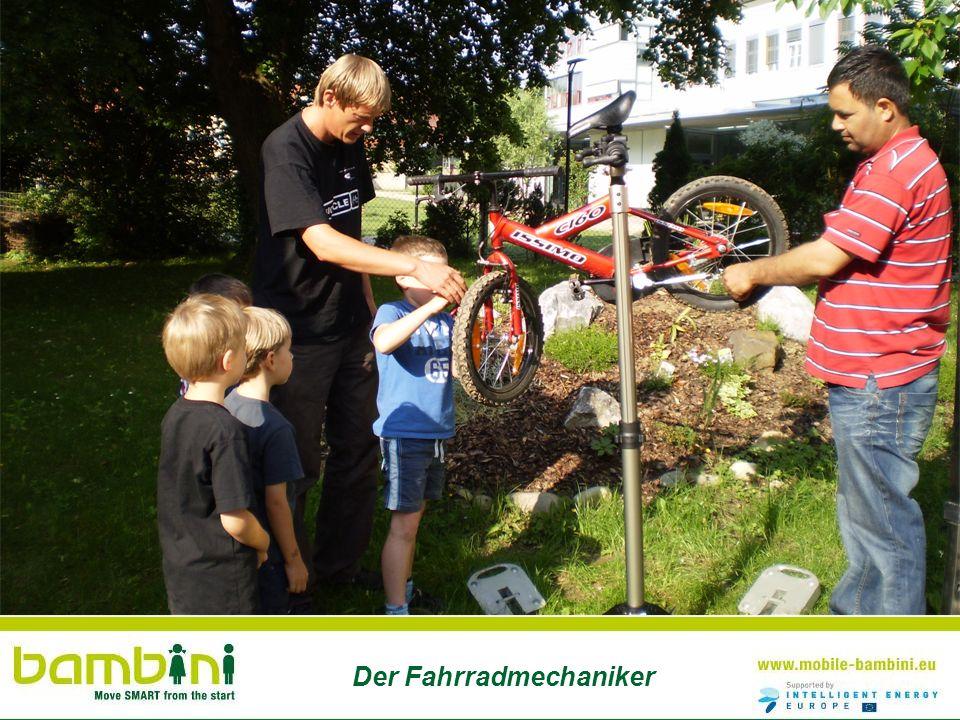 Der Fahrradmechaniker
