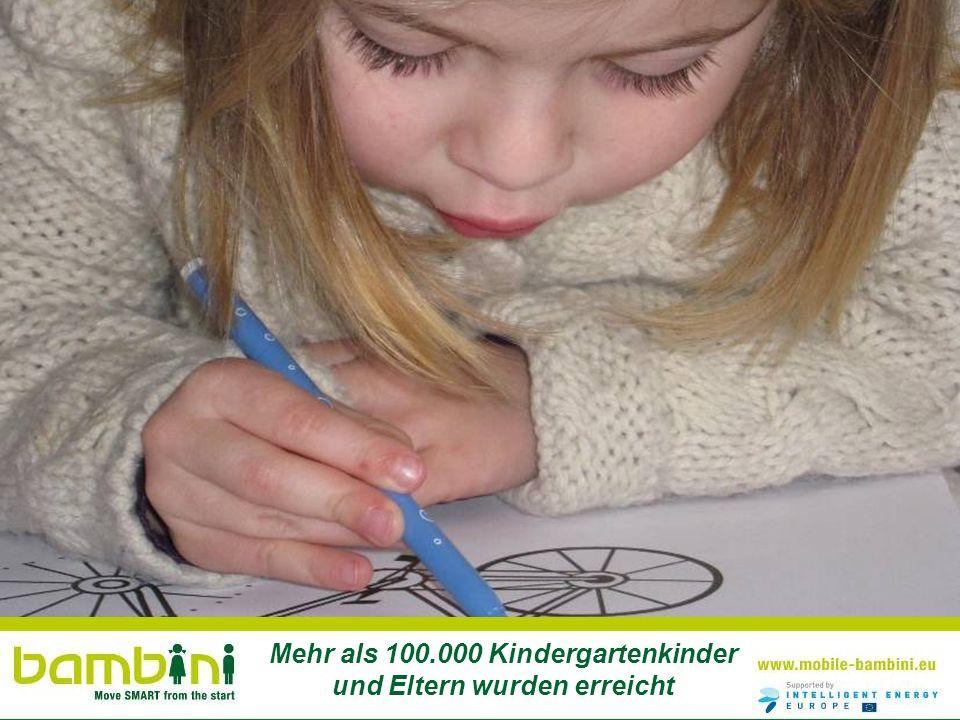 Mehr als 100.000 Kindergartenkinder und Eltern wurden erreicht