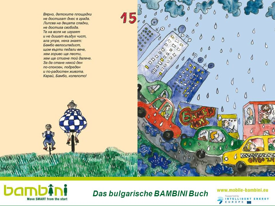 Das bulgarische BAMBINI Buch