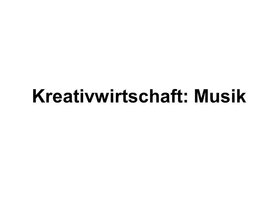 Kreativwirtschaft: Musik