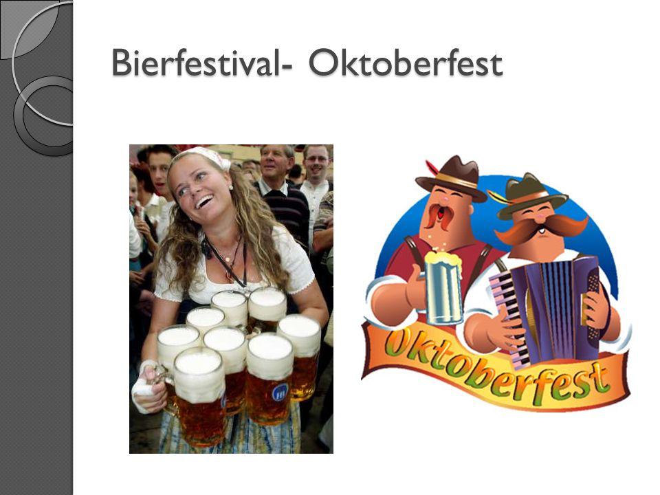 Bier und Wurst- das mögen wir!