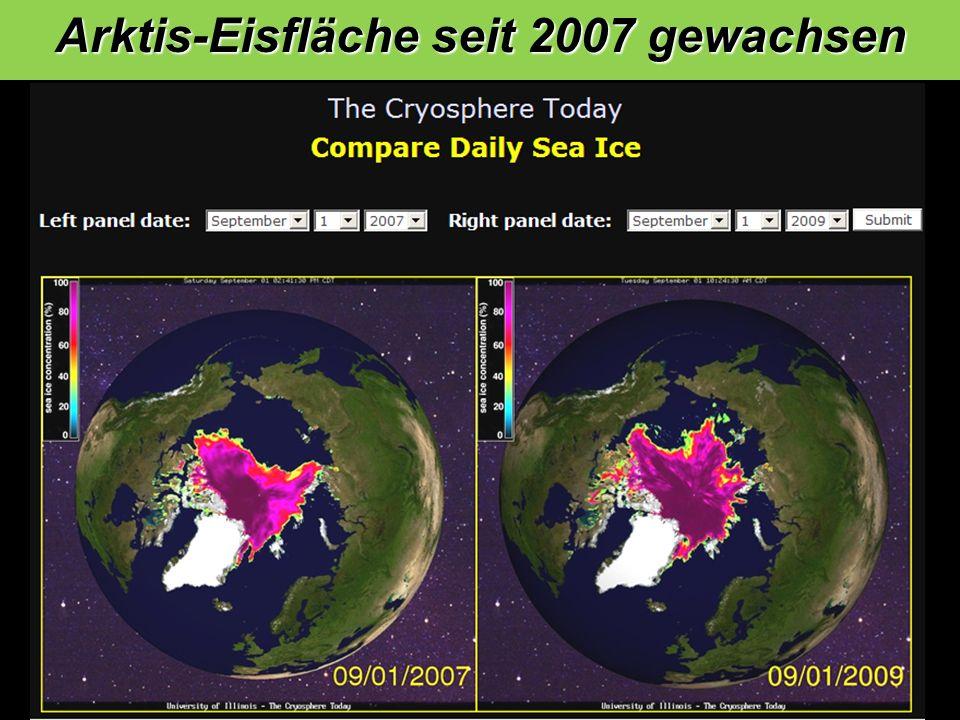 Arktis-Eisfläche seit 2007 gewachsen 1 2 3 4 4 3 2 1 5