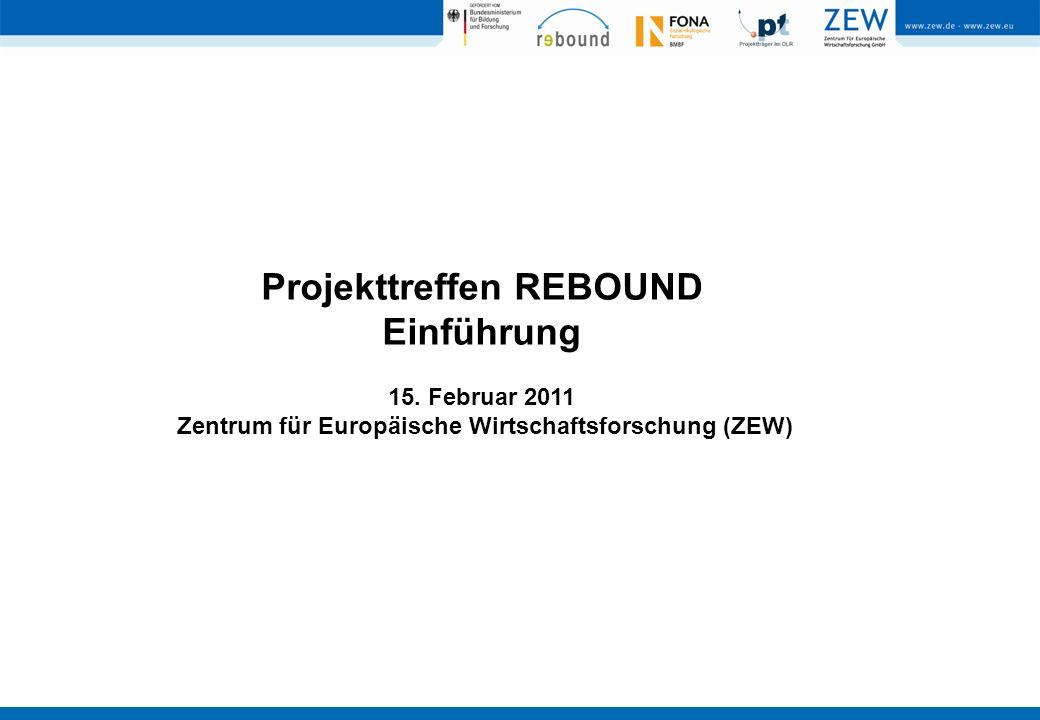 Projekttreffen REBOUND Einführung 15.