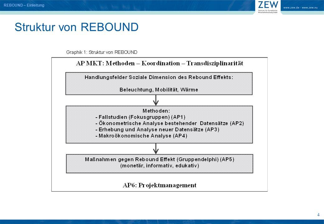 4 Struktur von REBOUND REBOUND – Einleitung