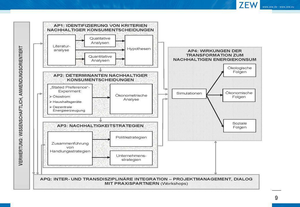 20 AP 2: Befragung Konzept Auswahl Befragungsinstitut Inputs von Praxisbeirat Entwurf, Struktur Fragebogen für 1.