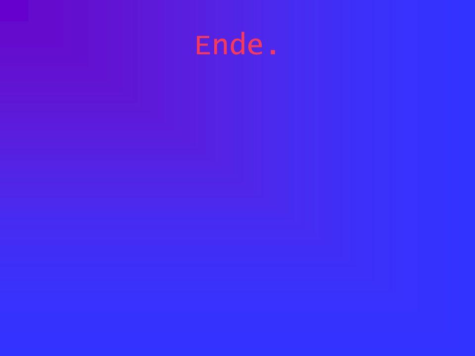 Ende.
