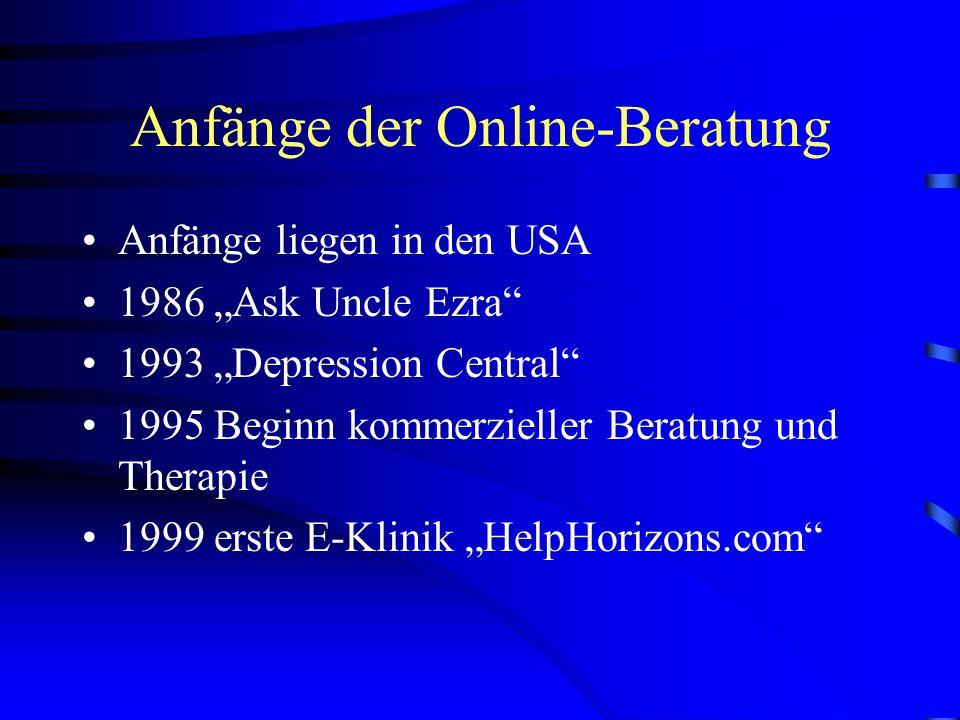I Online-Beratung im Allgemeinen