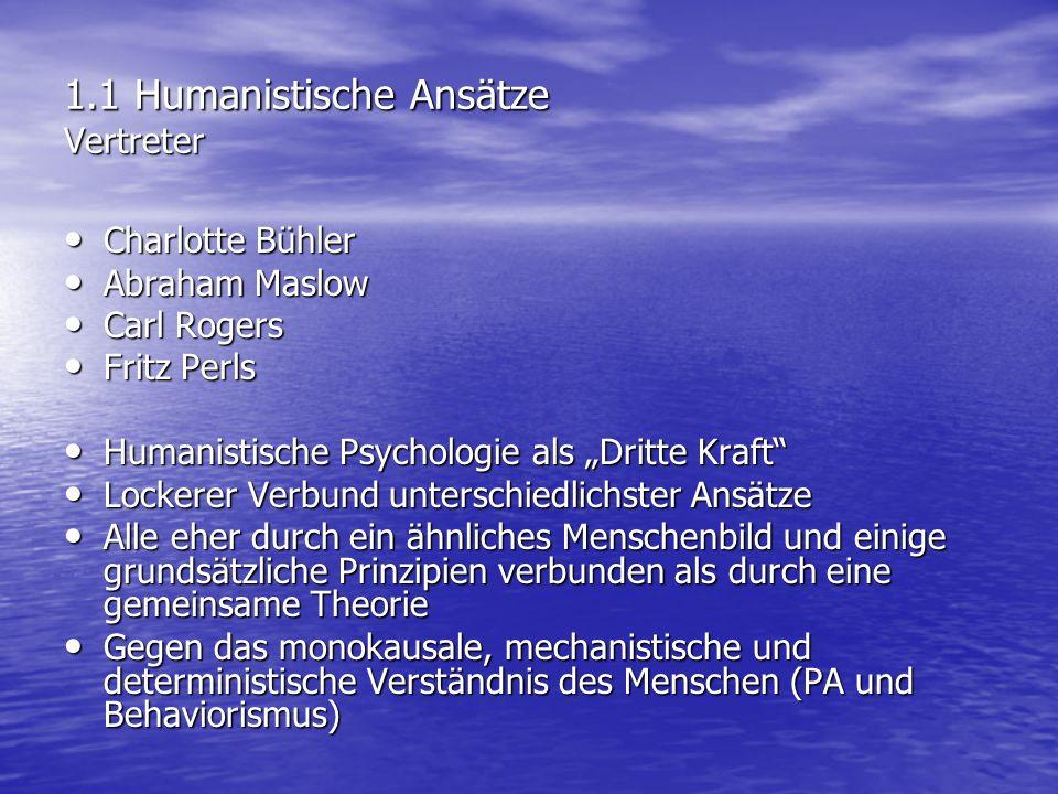 2.3 Gestalttherapie Aspekte und Techniken der Intervention Interventionstechniken: a) Der leere Stuhl b) Darstellungen c) Phantasie-Übungen d) Reizüberflutung e) Träume