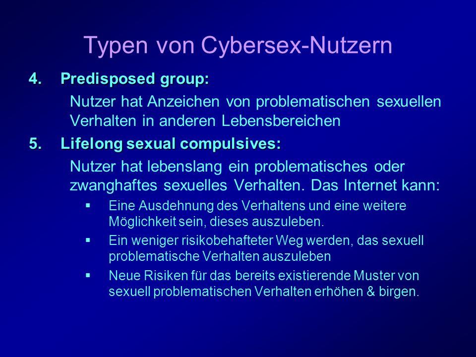 IX.Fazit Online-Sexualität birgt Risiken: Wenn sie derartig dominiert, dass der Verdacht der Sucht aufkommt.