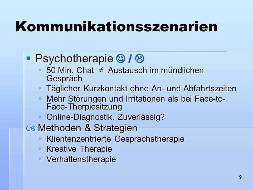 10 Psychologische Beratung & Psychotherapie