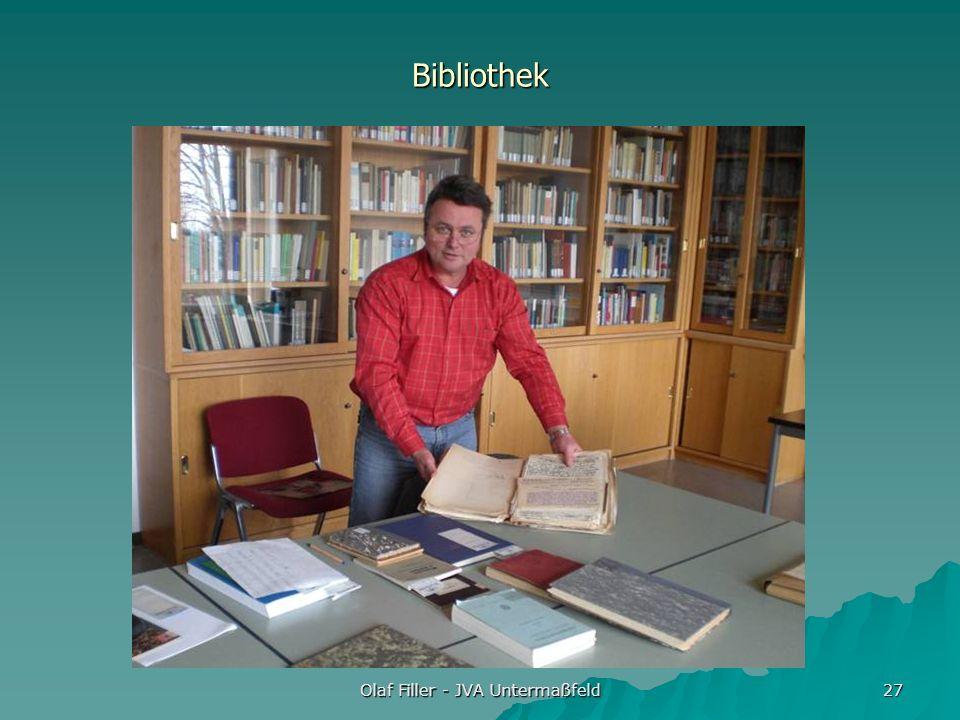 Olaf Filler - JVA Untermaßfeld 27 Bibliothek