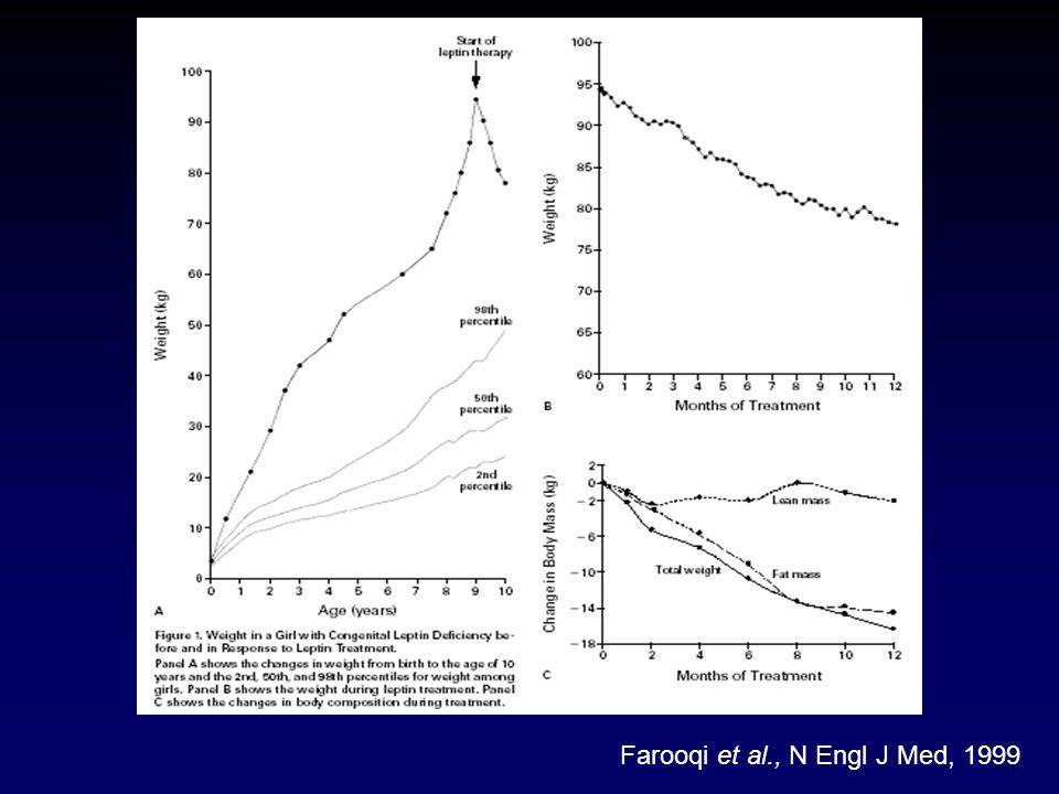 Farooqi et al., N Engl J Med, 1999