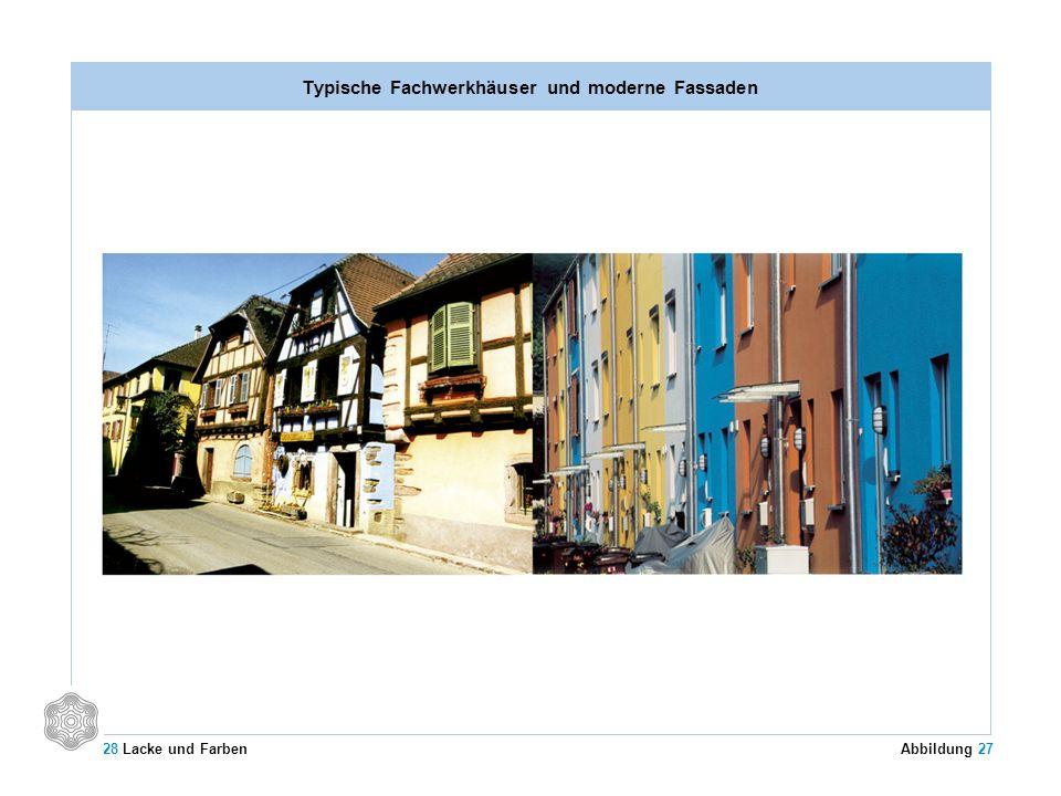 Typische Fachwerkhäuser und moderne Fassaden 28 Lacke und Farben Abbildung 27