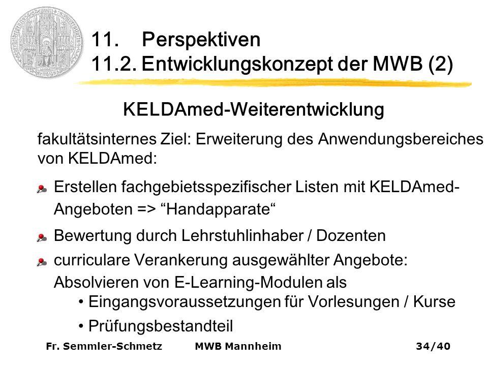 Fr. Semmler-Schmetz34/40 MWB Mannheim 11. Perspektiven 11.2.