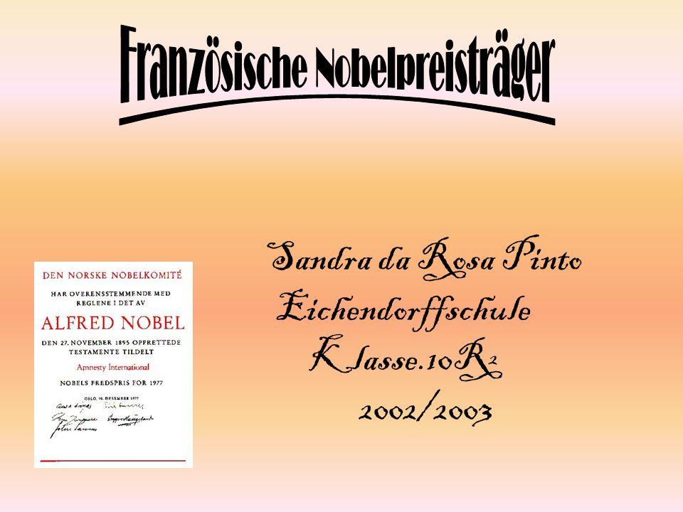 Sandra da Rosa Pinto Eichendorffschule Klasse.10R² 2002/2003