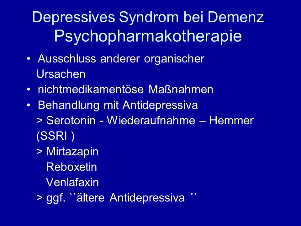 antidepressivum venlafaxin nebenwirkungen