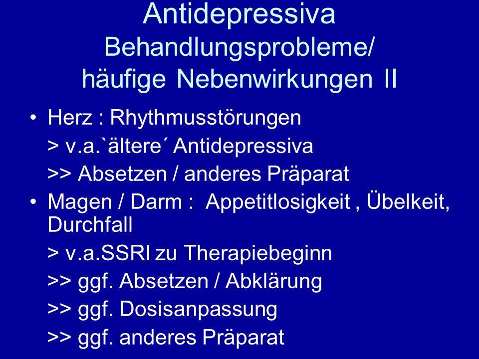 Alprazolam 1 mg nebenwirkungen