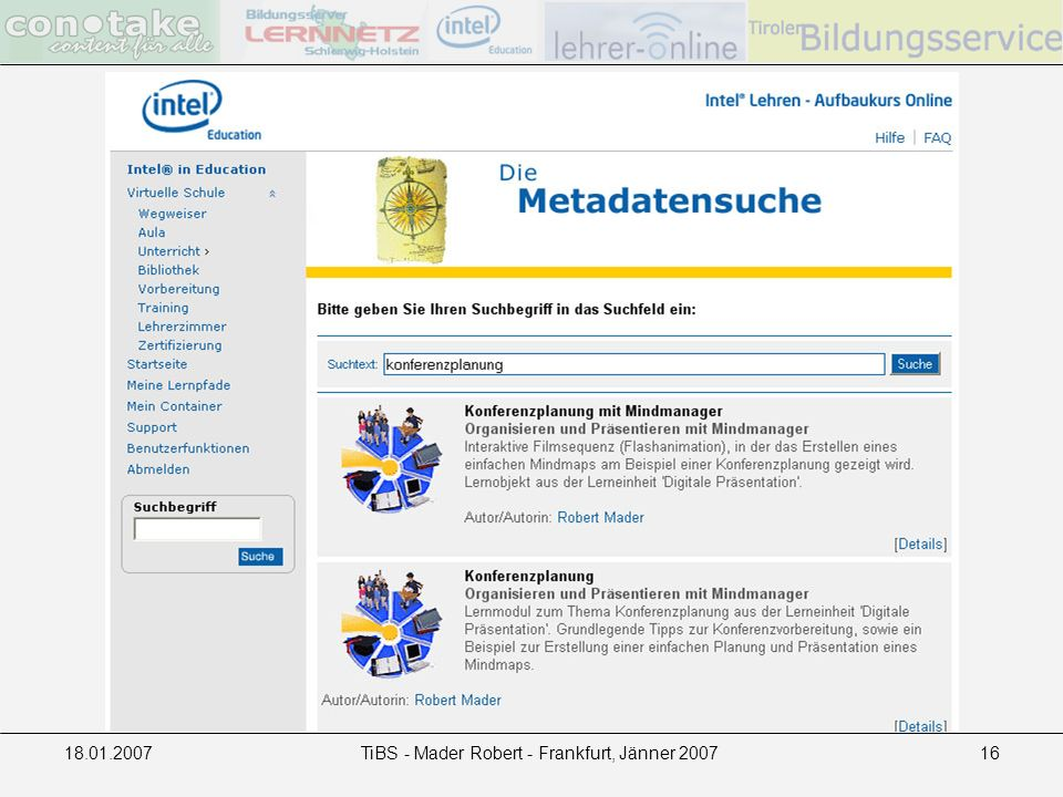 18.01.2007TiBS - Mader Robert - Frankfurt, Jänner 200716
