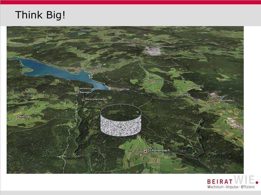 Grundprinzip Hubraum Wasserschloss h Wasser wird in den unterirdischen Hubraum gepumpt Die Gesteinsmassen oberhalb heben sich Bei Energiebedarf wird das Wasser über das Wasserschloss abgelassen
