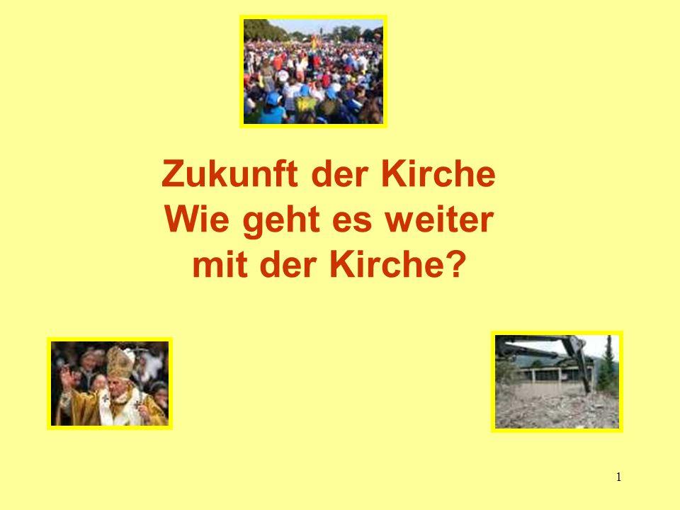 22 Wie geht es weiter mit der Kirche.Herausforderungen der Kirche in Deutschland 2.