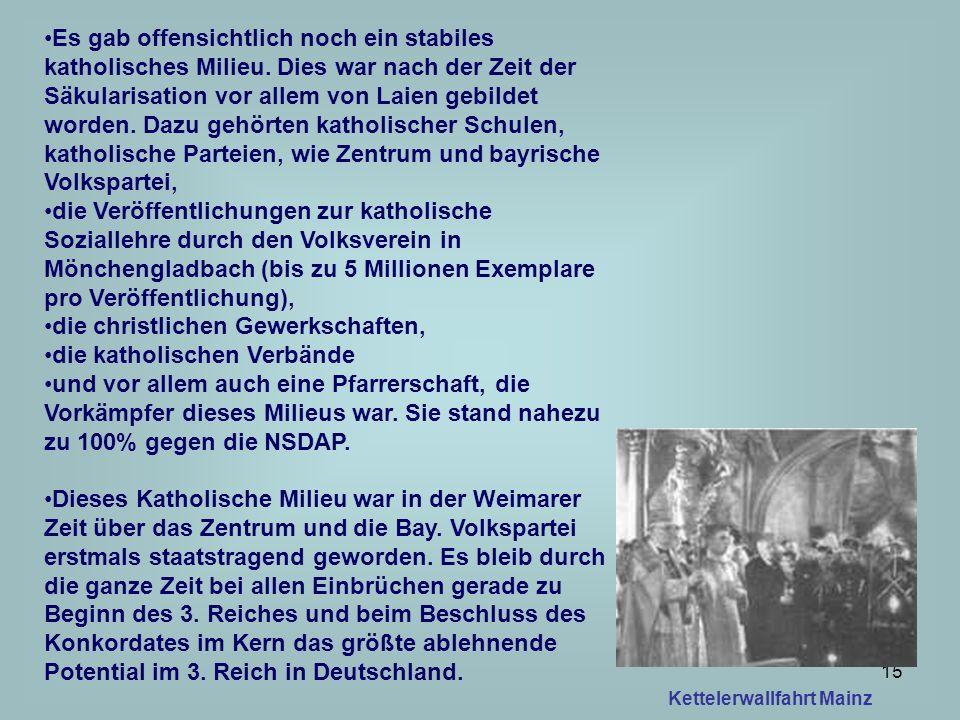 16 Vor 1933 hatten die Bischöfe die Wahl der NSDAP verboten, nach 1933 wollten sie im Konkordat Schutz der Kirche und ihrer Einrichtungen erhalten.