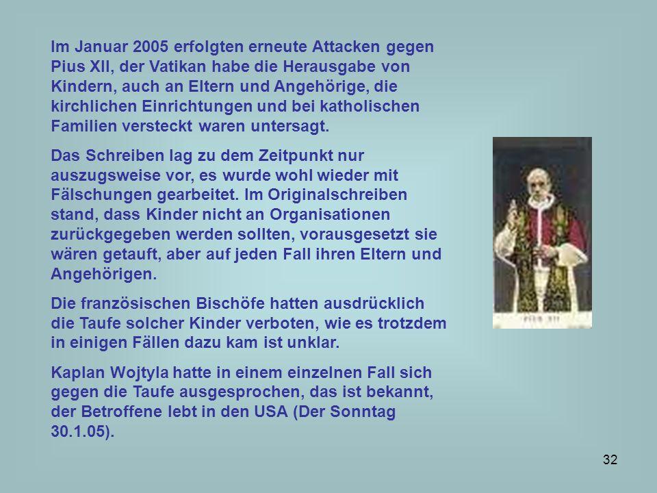 33 Als Papst Pius XII.