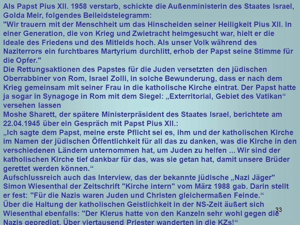 34 Der Protest der deutschen Bischöfe wurde am 12.