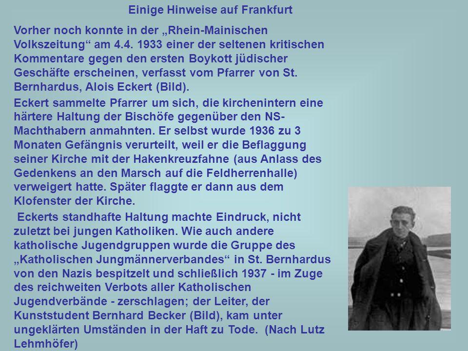 39 Ein Dorn im Auge war den Nazis auch die Jesuitenhochschule St.