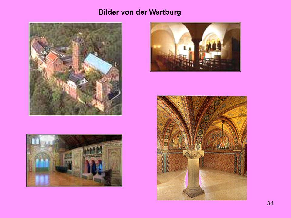 34 Bilder von der Wartburg