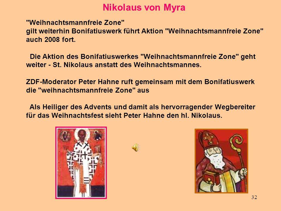 32 Nikolaus von Myra