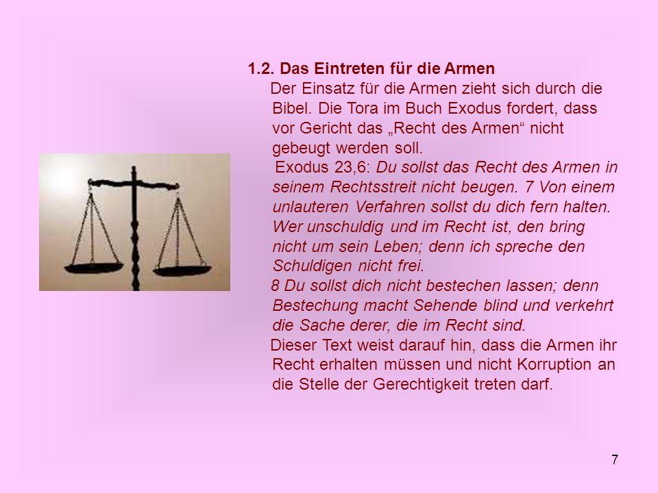 18 Hier sind an erster Stelle die Sozialgesetze der Tora zu nennen.