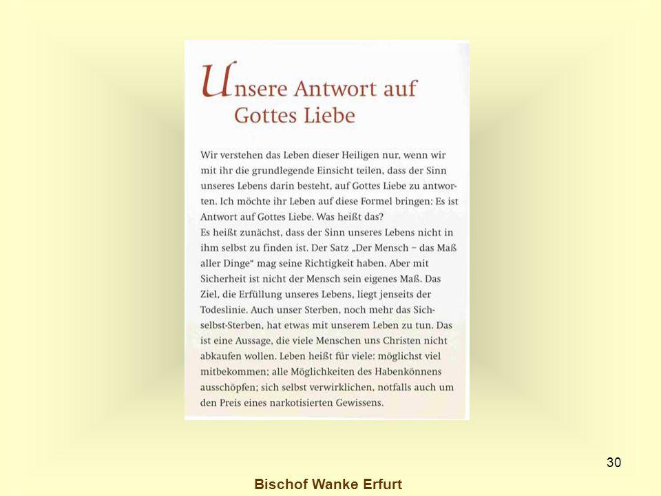 30 Bischof Wanke Erfurt
