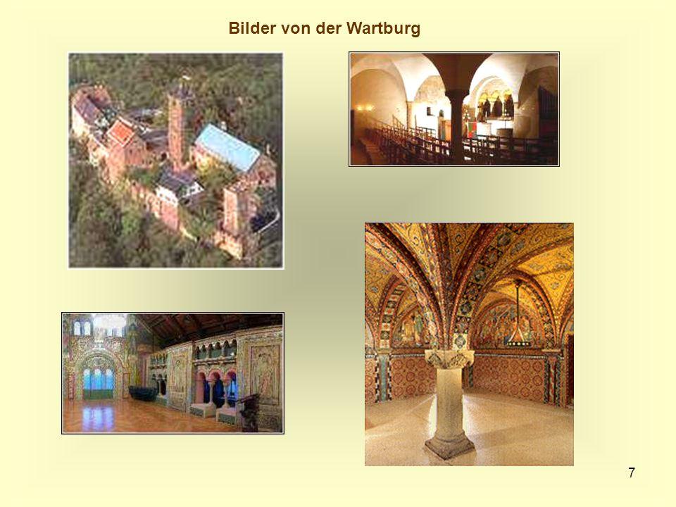 7 Bilder von der Wartburg