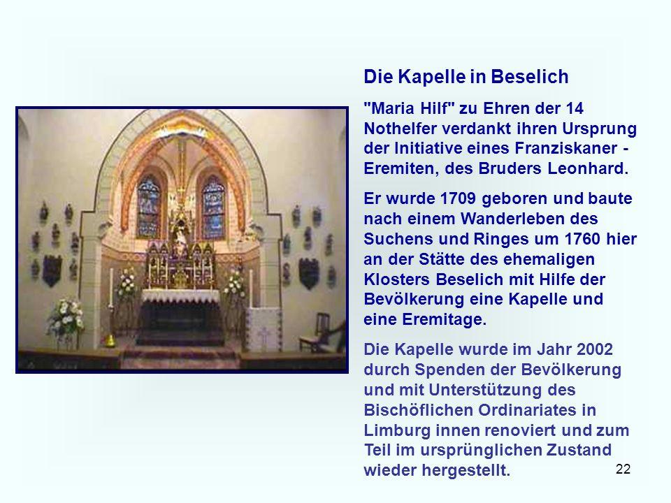 22 Die Kapelle in Beselich