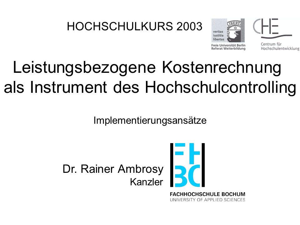 Dr. Rainer Ambrosy Kanzler 12