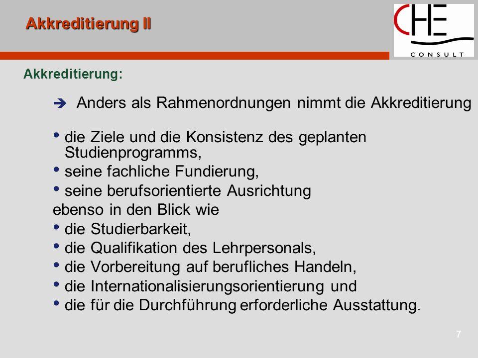 8Akkreditierungsinstrumentarium Das Instrumentarium Akkreditierungsrat; Akkreditierungsagenturen fachspezifische Gutachtergruppen Akkreditierungskommission